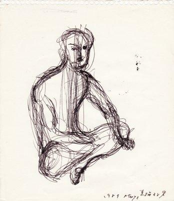 Man whom I Sketch